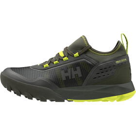Helly Hansen Loke Rambler V2 HT Zapatillas Hombre, beluga/forest night/azid lime